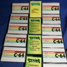 Videojuegos y Consolas: LOTE DE CASSETTES PARA COMMODORE. Lote 181158621