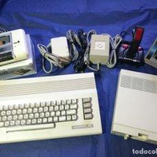 Videojuegos y Consolas: COMMODORE 64 + DISQUETERA 1541-II + DATASSETTE. Lote 181180955