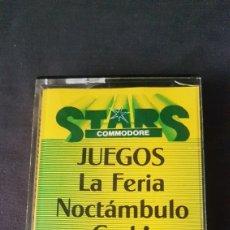 Videojuegos y Consolas: COMMODORE STARS 2...6 JUEGOS. Lote 181192766