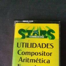 Videojuegos y Consolas: COMMODORE STARS 2. 5 UTILIDADES. Lote 181193035