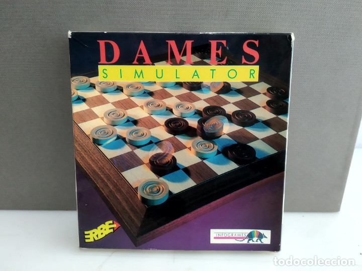 JUEGO PARA COMMODORE AMIGA DAMES (Juguetes - Videojuegos y Consolas - Commodore)