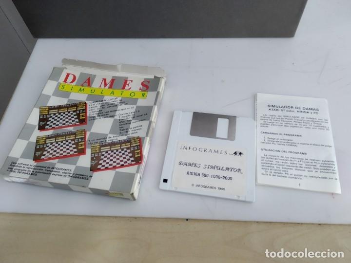 Videojuegos y Consolas: JUEGO PARA COMMODORE AMIGA DAMES - Foto 4 - 182362282