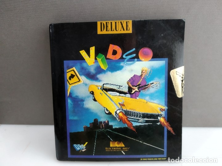 JUEGO PARA COMMODORE AMIGA VIDEO DELUXE (Juguetes - Videojuegos y Consolas - Commodore)