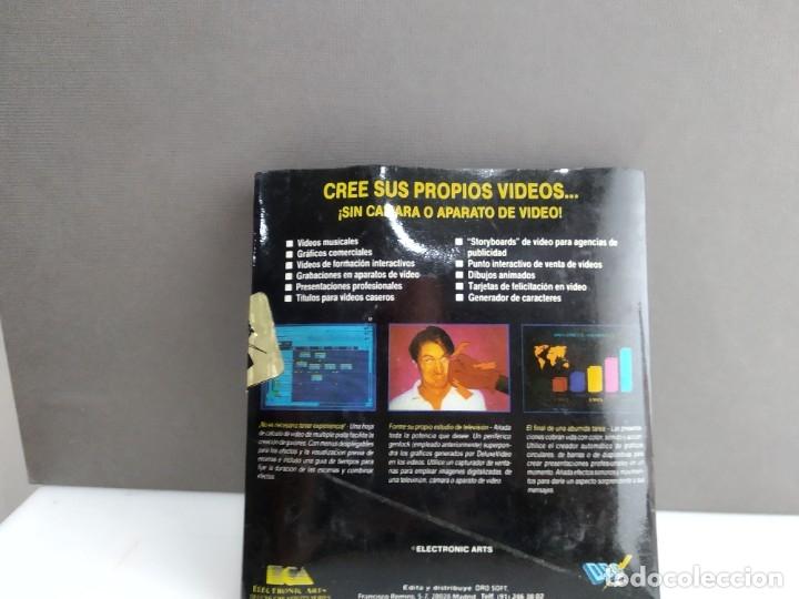 Videojuegos y Consolas: JUEGO PARA COMMODORE AMIGA VIDEO DELUXE - Foto 3 - 182365257