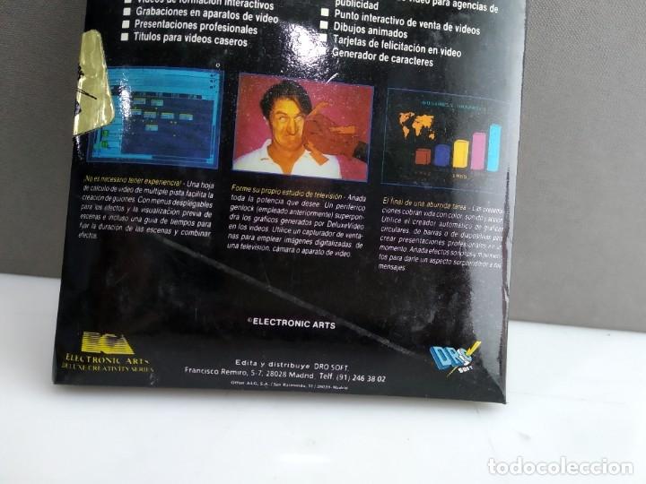Videojuegos y Consolas: JUEGO PARA COMMODORE AMIGA VIDEO DELUXE - Foto 4 - 182365257