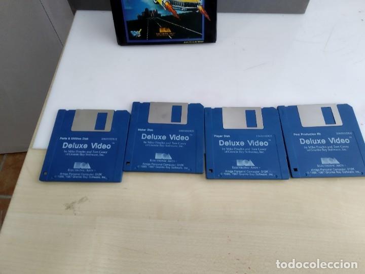 Videojuegos y Consolas: JUEGO PARA COMMODORE AMIGA VIDEO DELUXE - Foto 5 - 182365257