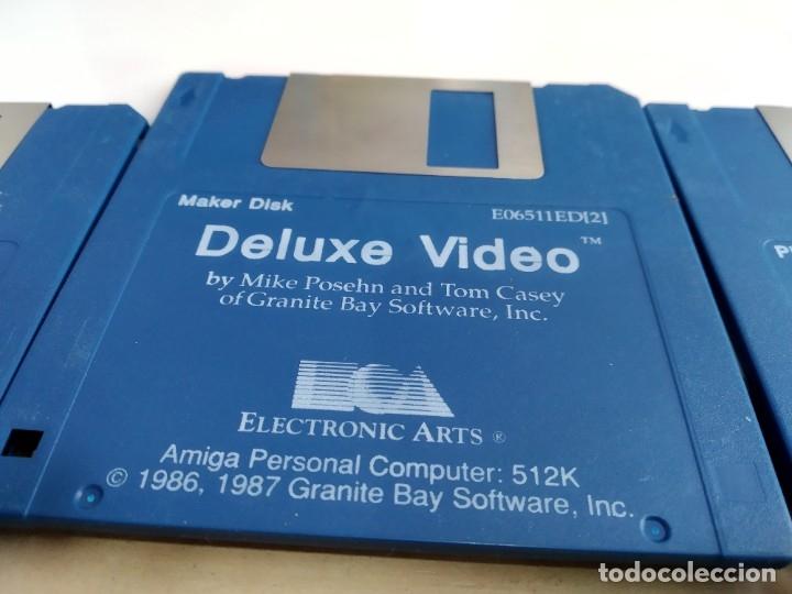 Videojuegos y Consolas: JUEGO PARA COMMODORE AMIGA VIDEO DELUXE - Foto 6 - 182365257