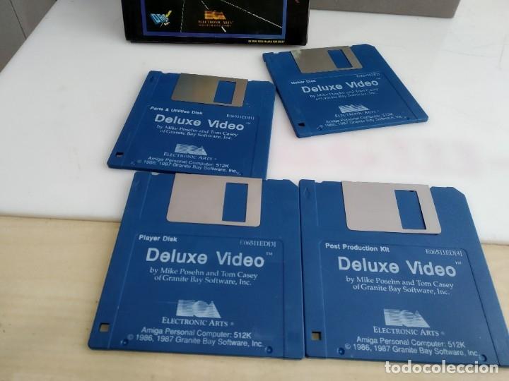 Videojuegos y Consolas: JUEGO PARA COMMODORE AMIGA VIDEO DELUXE - Foto 7 - 182365257