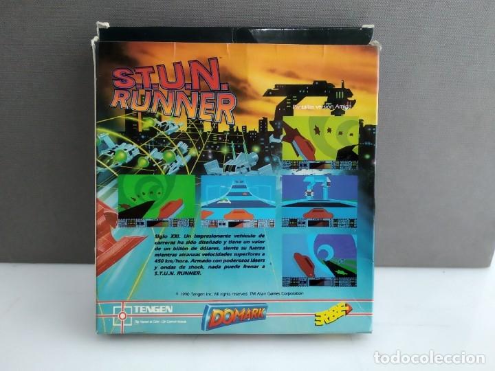 Videojuegos y Consolas: JUEGO PARA COMMODORE AMIGA STUN RUNNER - Foto 2 - 182368006