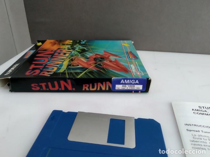Videojuegos y Consolas: JUEGO PARA COMMODORE AMIGA STUN RUNNER - Foto 4 - 182368006