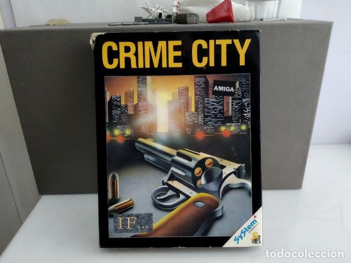 JUEGO PARA COMMODORE AMIGA CRIME CITY (Juguetes - Videojuegos y Consolas - Commodore)