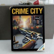Videojuegos y Consolas: JUEGO PARA COMMODORE AMIGA CRIME CITY. Lote 182368122