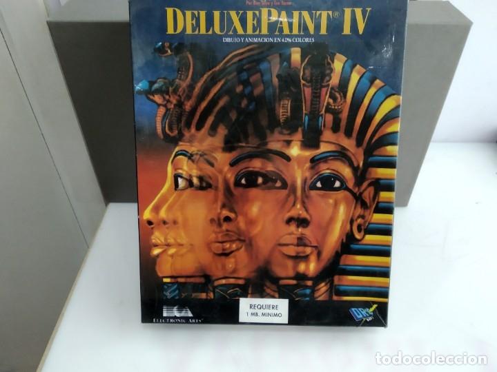 JUEGO PARA COMMODORE AMIGA DELUX PAINT I4 (Juguetes - Videojuegos y Consolas - Commodore)