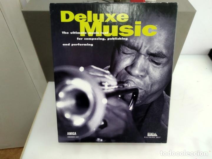 JUEGO PARA COMMODORE AMIGA DELUXE MUSIC (Juguetes - Videojuegos y Consolas - Commodore)