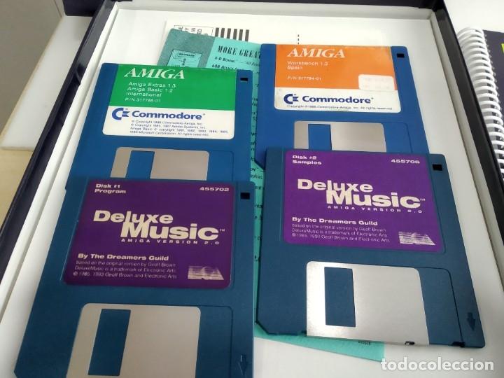 Videojuegos y Consolas: JUEGO PARA COMMODORE AMIGA DELUXE MUSIC - Foto 6 - 182369021