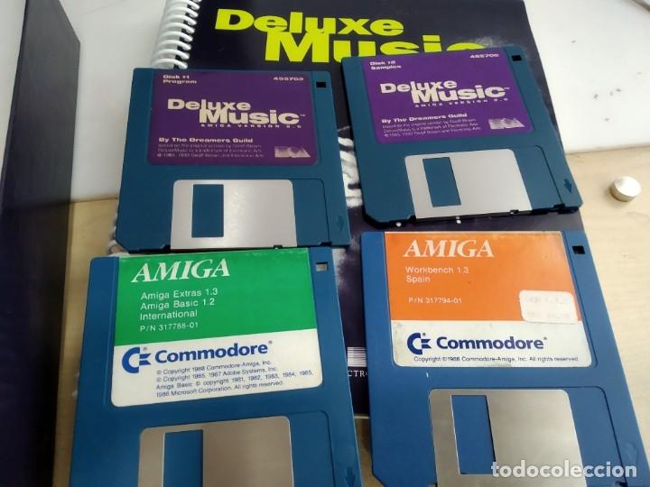 Videojuegos y Consolas: JUEGO PARA COMMODORE AMIGA DELUXE MUSIC - Foto 7 - 182369021