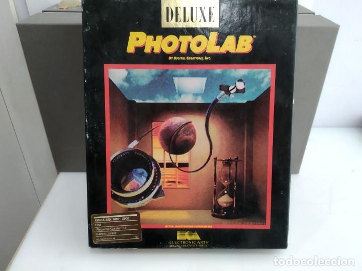 JUEGO PARA COMMODORE AMIGA PHOTOLAB (Juguetes - Videojuegos y Consolas - Commodore)