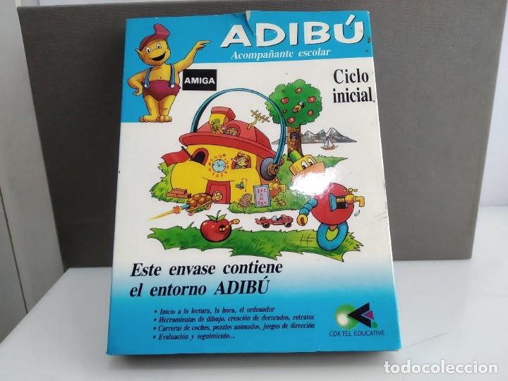 JUEGO PARA COMMODORE AMIGA ADIBU (Juguetes - Videojuegos y Consolas - Commodore)