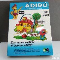 Videojuegos y Consolas: JUEGO PARA COMMODORE AMIGA ADIBU. Lote 182369325