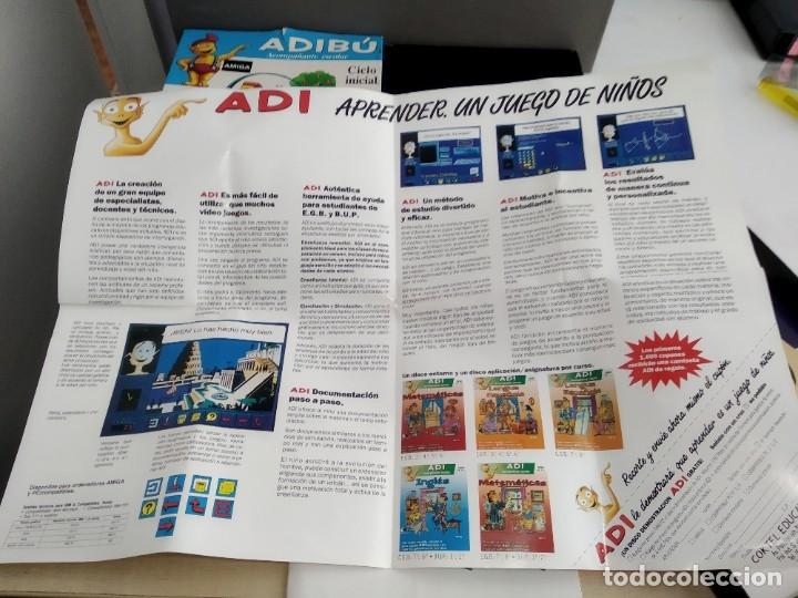 Videojuegos y Consolas: JUEGO PARA COMMODORE AMIGA ADIBU - Foto 7 - 182369325