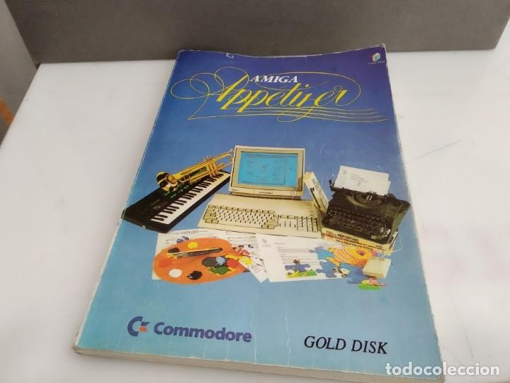 JUEGO PARA COMMODORE AMIGA MANUAL JUEGO APETTIZER (Juguetes - Videojuegos y Consolas - Commodore)