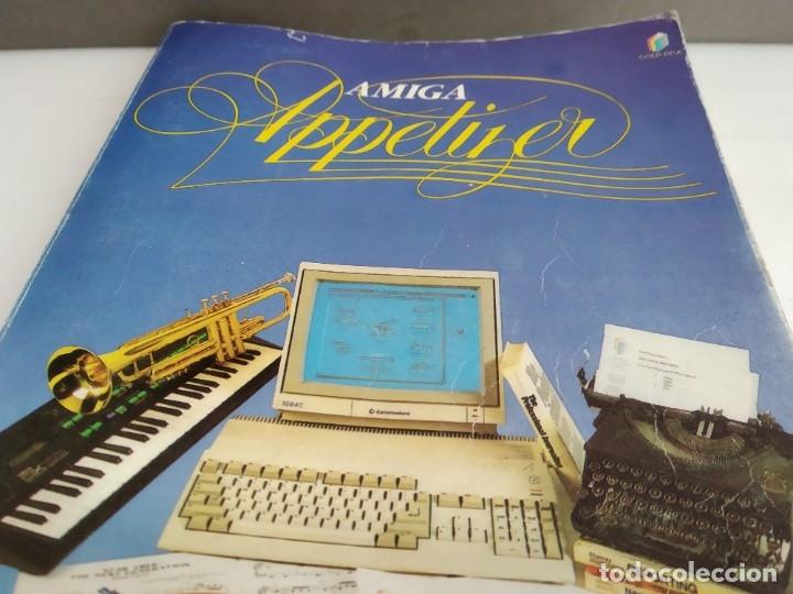 Videojuegos y Consolas: JUEGO PARA COMMODORE AMIGA MANUAL JUEGO APETTIZER - Foto 2 - 182369661
