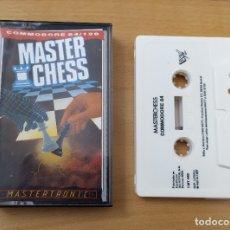 Videojuegos y Consolas: JUEGO MASTER CHESS COMMODORE BUEN ESTADO. Lote 182381805