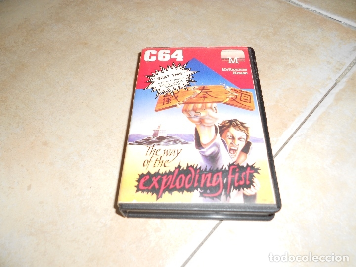 THE WAY OF THE EXPLODING FIST MELBOURNE HOUSE COMMODORE 64 (Juguetes - Videojuegos y Consolas - Commodore)
