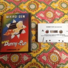 Videojuegos y Consolas: DUMMY RUN COMMODORE . Lote 182959407