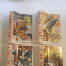 Videojuegos y Consolas: 4 CARATULAS DE CASETE DE JUEGOS COMMODORE 64.. Lote 183021532