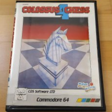 Videojuegos y Consolas: JUEGO CASSETTE COLOSSUS 4 CHESS COMMODORE 64 BUEN ESTADO. Lote 184434786
