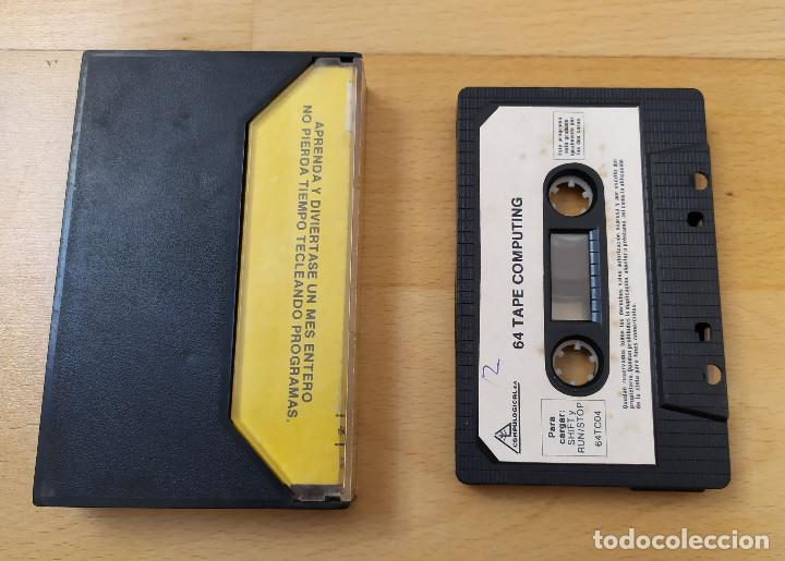 Videojuegos y Consolas: JUEGO UTILIDADES COMMODRE CASSETTE 64 TAPE COMPUTING Nº4 ESTADO ACEPTABLE - Foto 2 - 184451080
