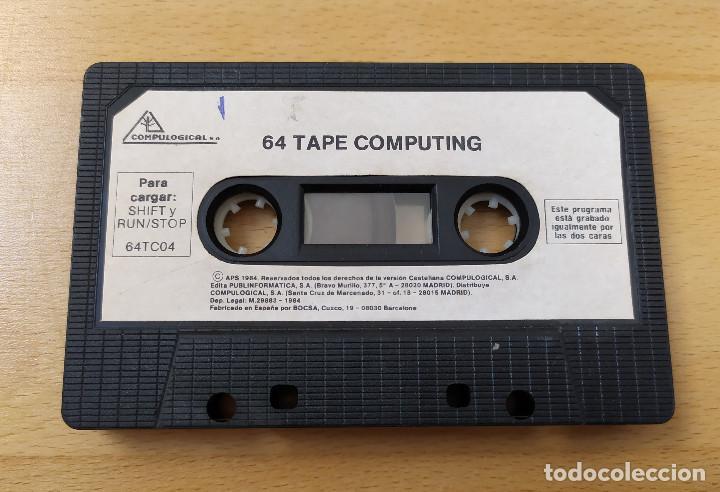 Videojuegos y Consolas: JUEGO UTILIDADES COMMODRE CASSETTE 64 TAPE COMPUTING Nº4 ESTADO ACEPTABLE - Foto 5 - 184451080