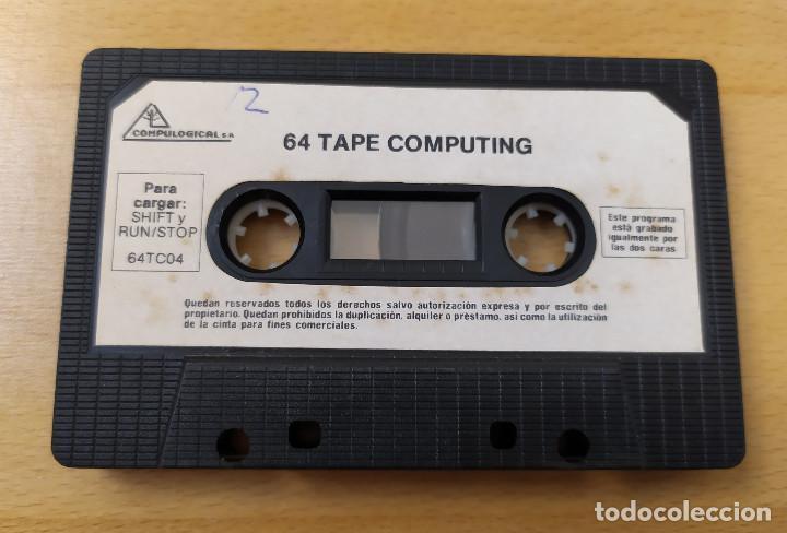 Videojuegos y Consolas: JUEGO UTILIDADES COMMODRE CASSETTE 64 TAPE COMPUTING Nº4 ESTADO ACEPTABLE - Foto 6 - 184451080