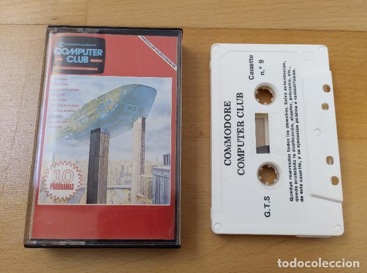 JUEGO UTILIDADES CASSETTE COMMODORE COMPUTER CLUB Nº9 (Juguetes - Videojuegos y Consolas - Commodore)