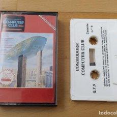 Videojuegos y Consolas: JUEGO UTILIDADES CASSETTE COMMODORE COMPUTER CLUB Nº9. Lote 184451346