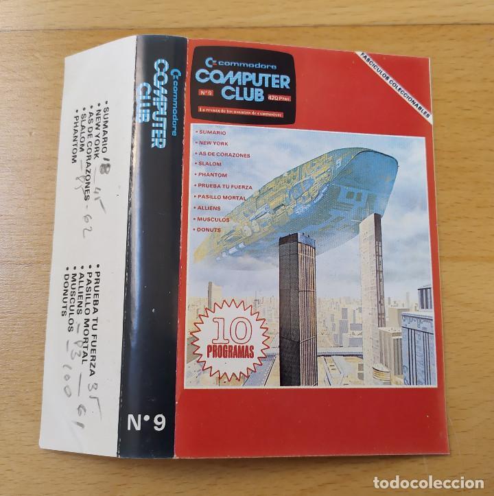 Videojuegos y Consolas: JUEGO UTILIDADES CASSETTE COMMODORE COMPUTER CLUB Nº9 - Foto 3 - 184451346