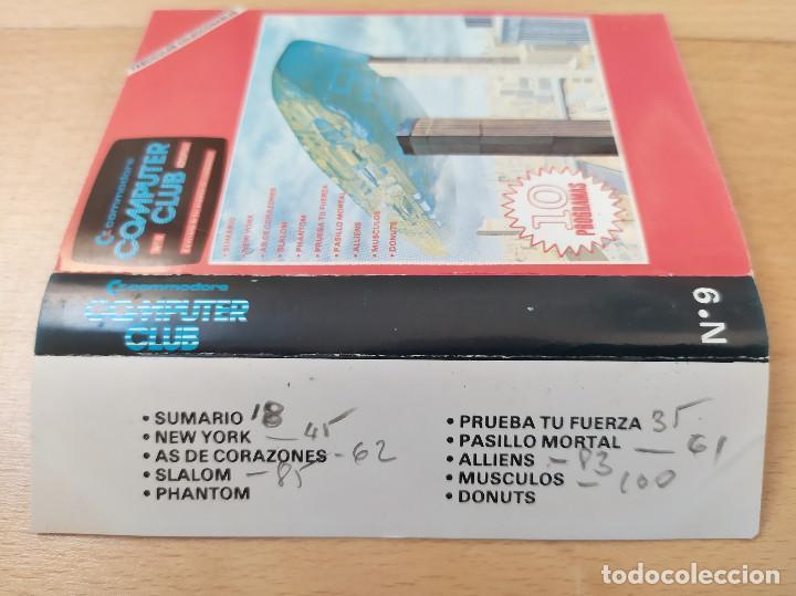 Videojuegos y Consolas: JUEGO UTILIDADES CASSETTE COMMODORE COMPUTER CLUB Nº9 - Foto 5 - 184451346
