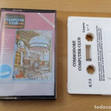 Videojuegos y Consolas: JUEGO UTILIDADES CASSETTE COMMODORE COMPUTER CLUB Nº7. Lote 184451492