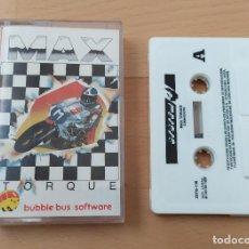 Videojuegos y Consolas: JUEGO COMMODORE MAX TORQUE BUBBLE BUS SOFTWARE SYSTEM 4. Lote 185958260