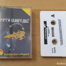 Videojuegos y Consolas: JUEGO COMMODORE FIFTH QUADRANT BUBBLE BUS SOFTWARE SYSTEM 4 BUEN ESTADO. Lote 185958453