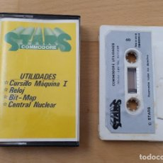 Videojuegos y Consolas: JUEGOS UTILIDADES STARS COMMODORE NUMERO 1 CON SEÑALES DE USO. Lote 185959100