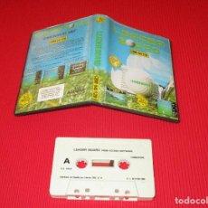 Videojuegos y Consolas: LEADER BOARD - CBM 64/128 - COMODORE - COMMODORE - SIMULADOR DE GOLF - ACCESS. Lote 189476826