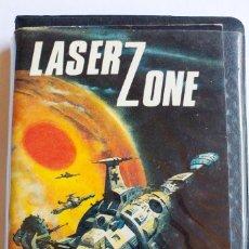 Videojuegos y Consolas: JUEGO LASER ZONE CBM 64 CINTA. AÑO 1983. Lote 191537205