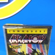 Videojuegos y Consolas: VIDEO JUEGO COMMODORE ARKANOID - ERBE SOFTWARE - TAITO - 1987. Lote 192096562