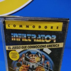 Videojuegos y Consolas: VIDEO JUEGO COMMODORE INFILTRATOR - ERBE SOFTWARE - 1986. Lote 192096886