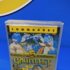 Videojuegos y Consolas: VIDEO JUEGO COMMODORE GAUNTLET - ERBE SOFTWARE - 1986. Lote 192097030
