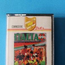Videojuegos y Consolas: COMMODORE - ITALIA 1990 - EDICIÓN ESPAÑOLA. Lote 196009116