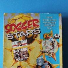 Videojuegos y Consolas: COMMODORE - SOCCER STARS - EDICIÓN ESPAÑOLA. Lote 196009857