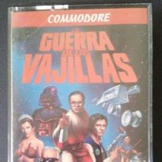 Videojuegos y Consolas: LA GUERRA DE LAS VAJILLAS JUEGO PARA COMMODORE 64 - FX DOBLE CARGA. Lote 196113382